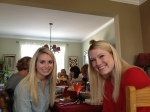 Lauren and Meg